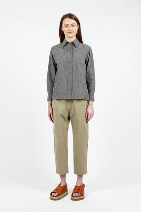 Washed Lentil Casual Pant