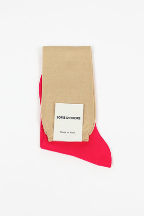 Farber Knee High Pink Sock