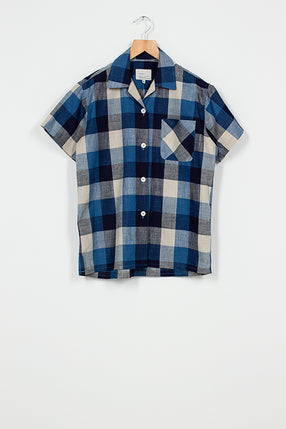 Blue Check Research Shirt