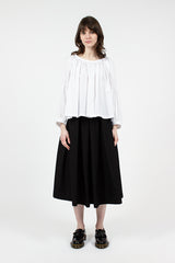 Black Pleat Skirt