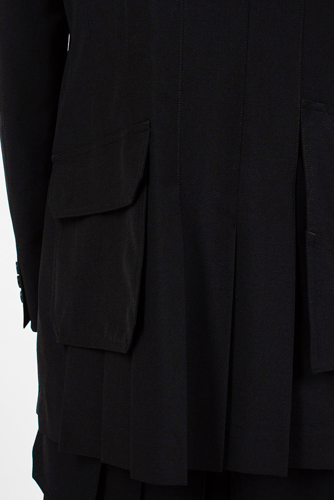 Pleat Pocket Jacket
