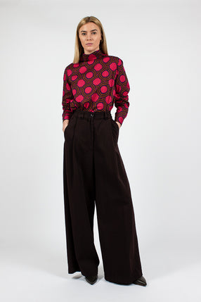 Podium Twill Aubergine Trouser