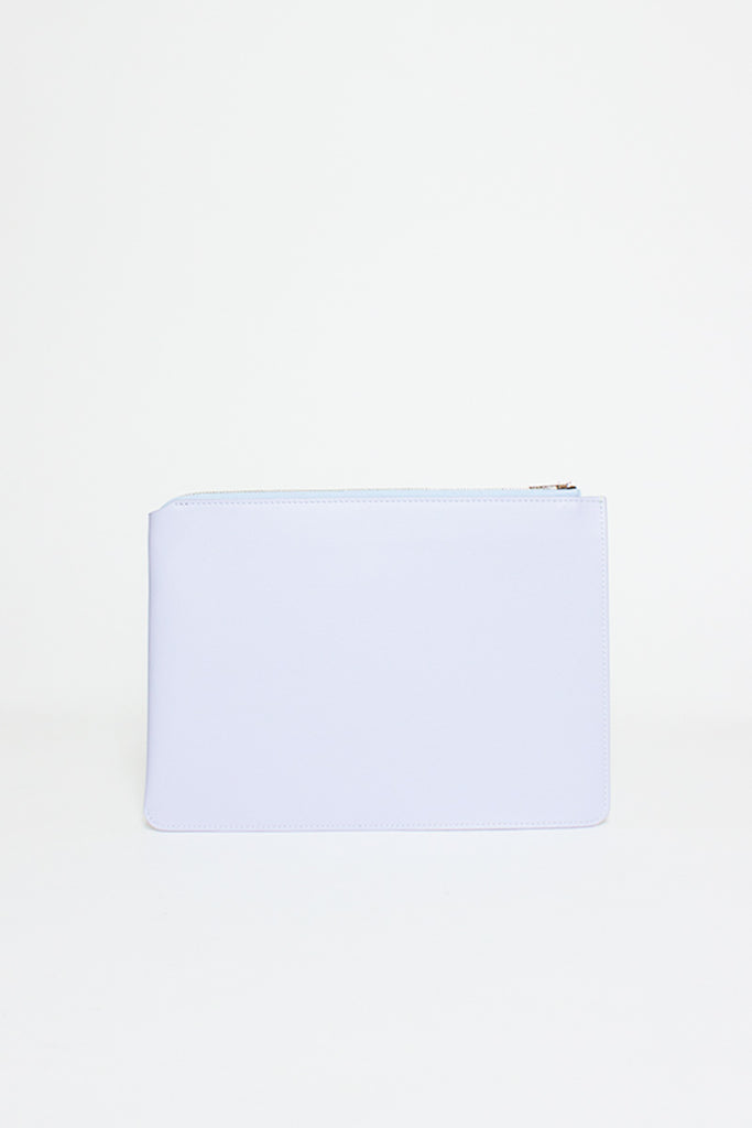 Pale Blue Malachite S Leather Pouch