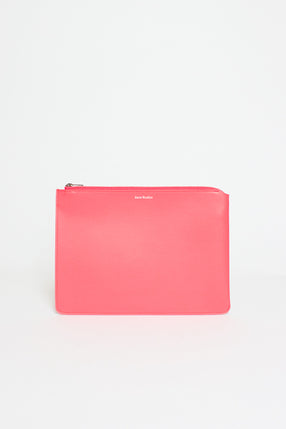 Pink Malachite S Leather Pouch