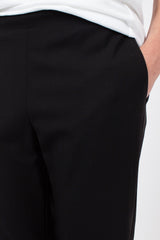 Black Pull On Trouser