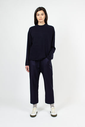 Punch Low Crotch Navy Pant