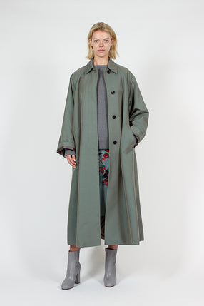Aqua Ray Long Coat