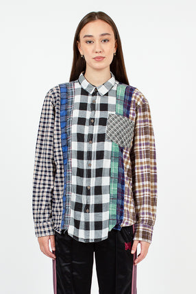 Rebuild Flannel Grey 7 Cuts Shirt