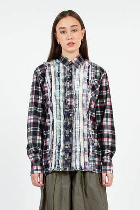 Rebuild Flannel Grey Ribbon Shirt