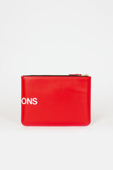 SA5100HL Red Huge Logo Pouch