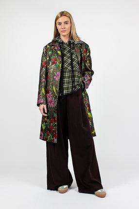Rolta Gold Floral Coat