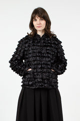Black Ruffle Jacket