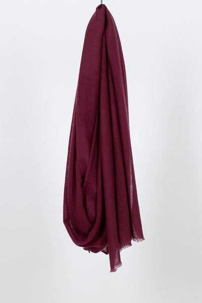 Tibetan Red Monk Ring Stole