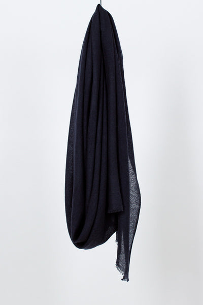 Midnight Blue Ring Stole