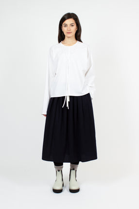 Scully Pleated Midi Skirt