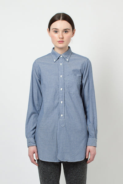 Blue Chambray 19th Century BD Shirt