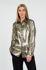 Clavelly Silver Shirt