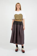 Elevation Santome Navy Skirt