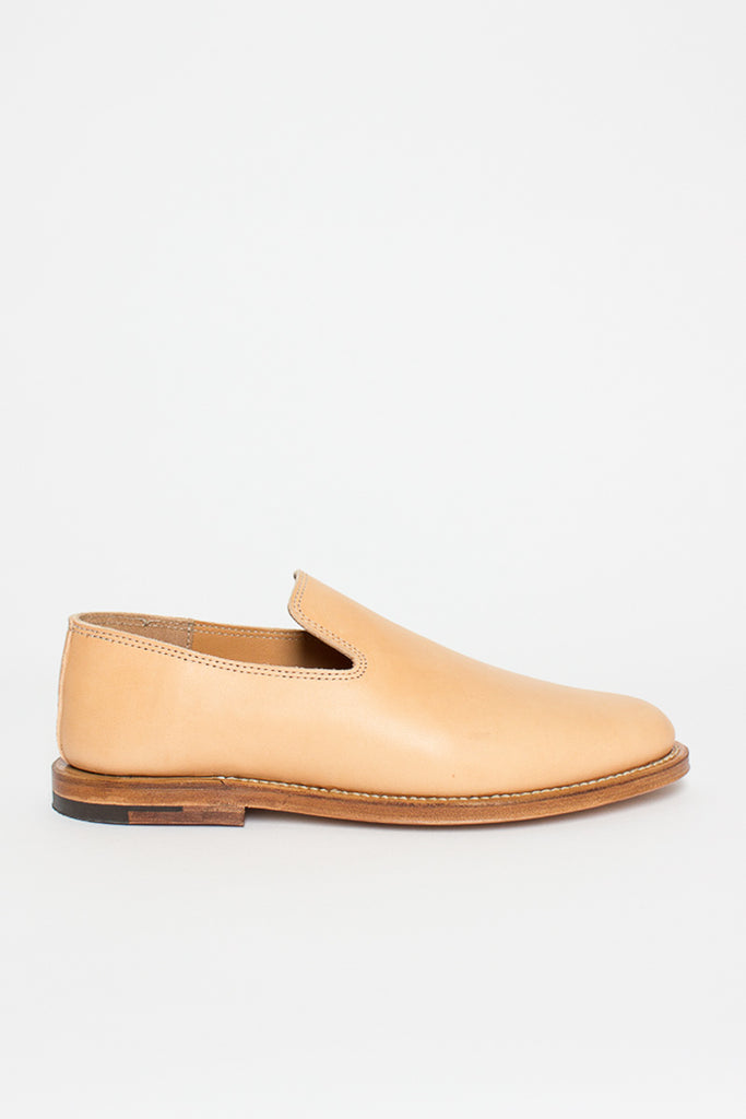 Natural Horsehide Slipper