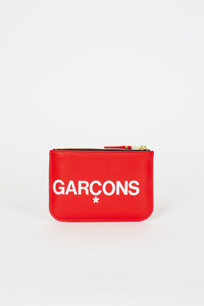 SA8100HL Red Huge Logo Pouch
