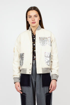 Off White Space Flight Jacket