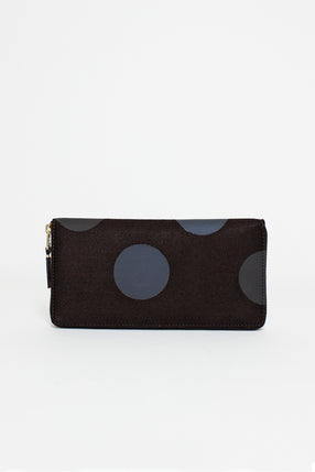 SA0110RD Classic Purse in Black Dot
