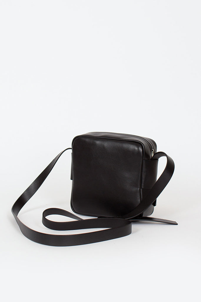 Black Camera Style Musubi Bag