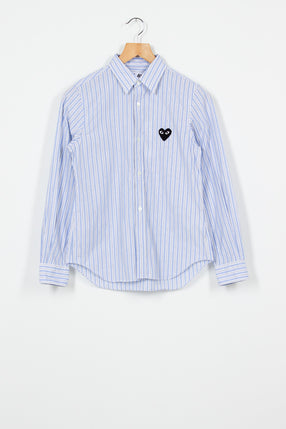 PLAY Light Blue/Grey Striped Shirt