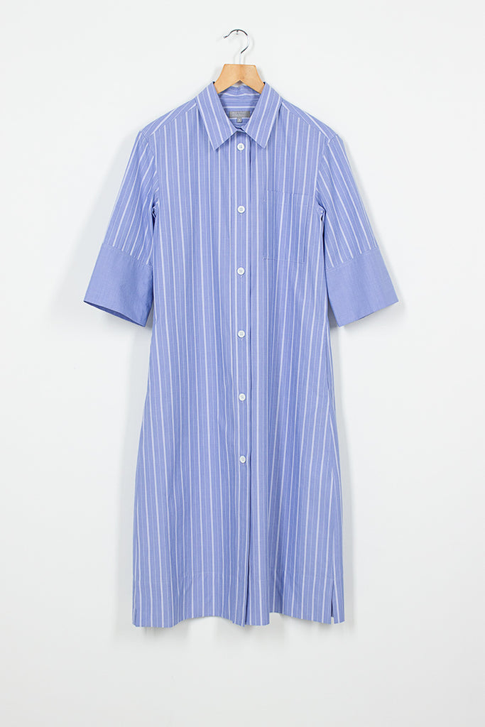 PJ Stripe Shirt Dress