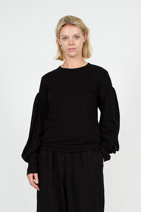 CDG Black Long Sleeve Tee