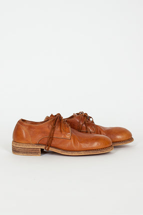 992 Full Grain Brown Leather Derby Shoe