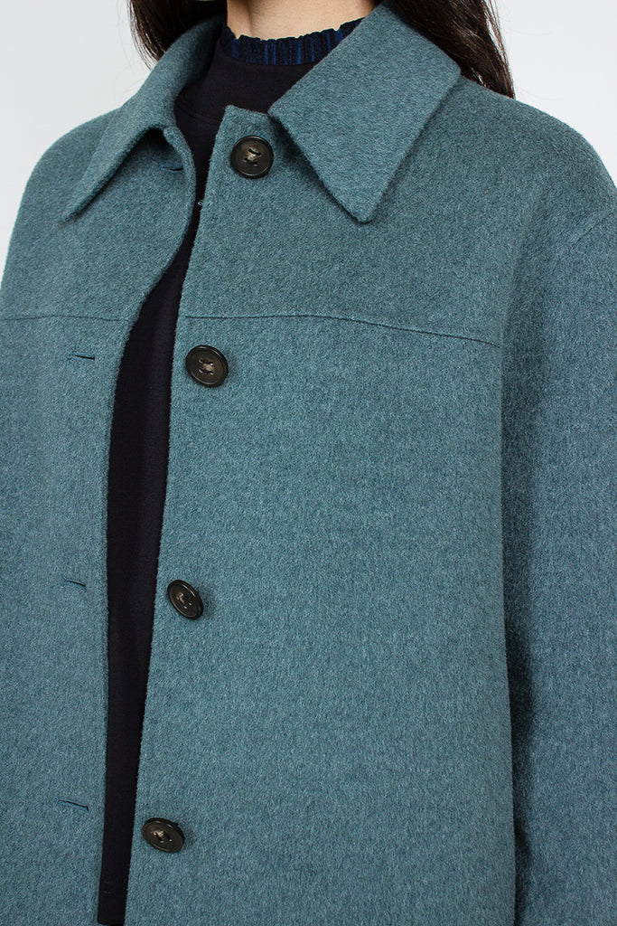 Teal Otty Double Jacket
