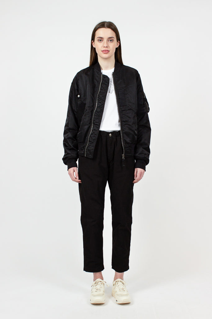 Black Thorson Bomber Jacket