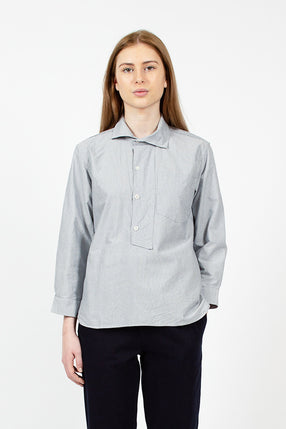 Asymmetric Collared Shirt