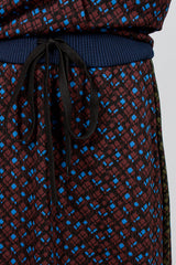 Technical Print Skirt