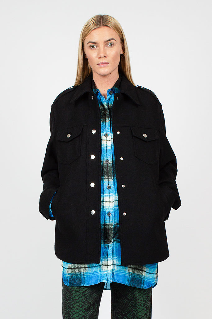 Valery Black Overshirt