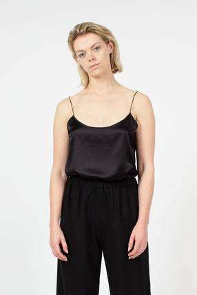 Black Twisted Camisole