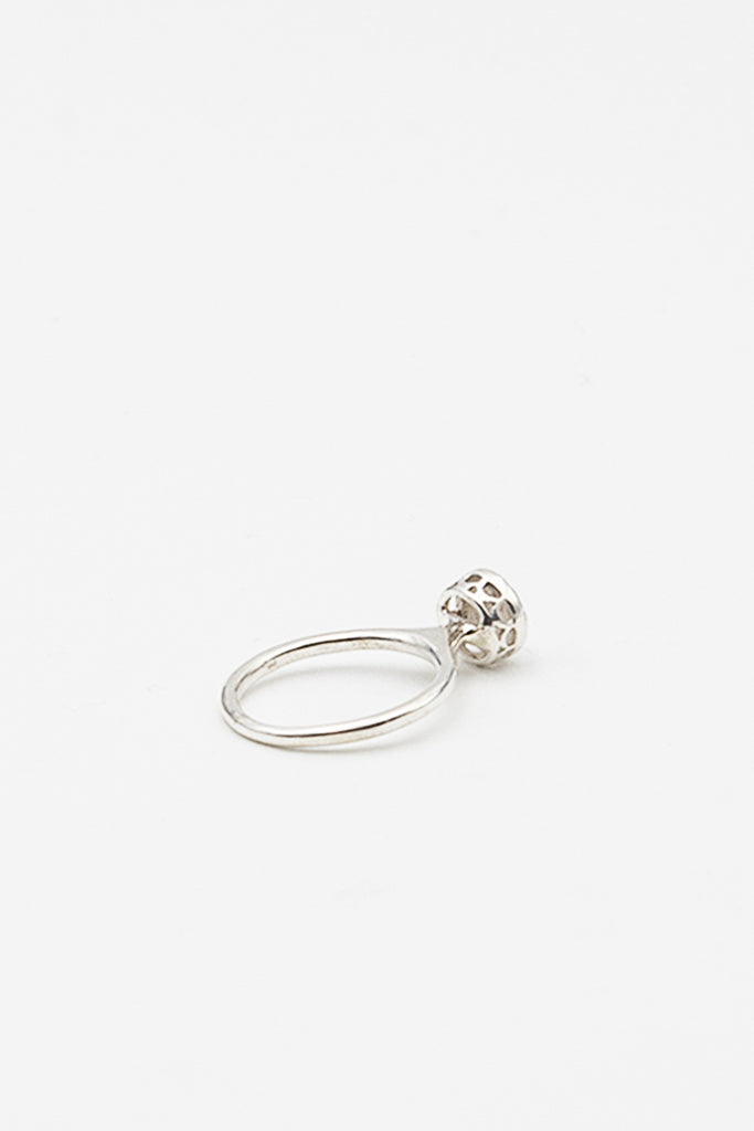 Wafa Pave Diamond Ring