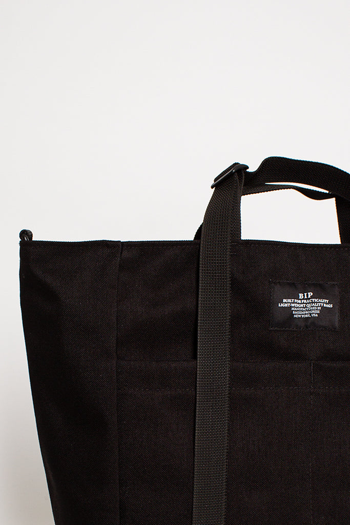 B.I.P. Black Weekend Zip Tote Bag