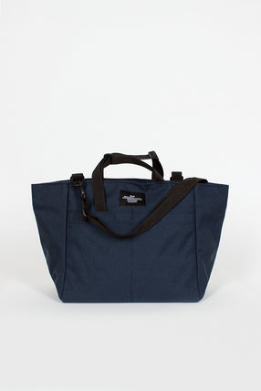 B.I.P Navy Carry On Zipper Shoulder Tote