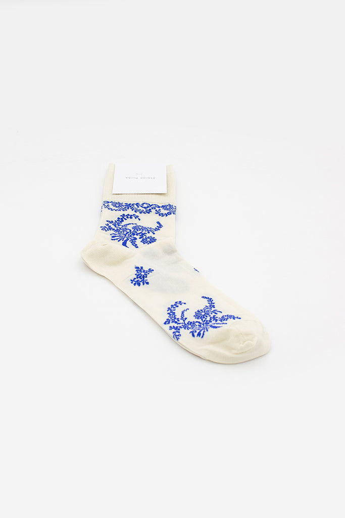 Delft Lace Ankle Sock