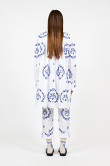 Delft Blue Frock Shirt