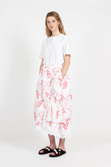 Asymmetric Lady Mirror Skirt