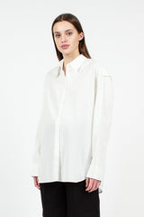 Inverted Seam White Shirt