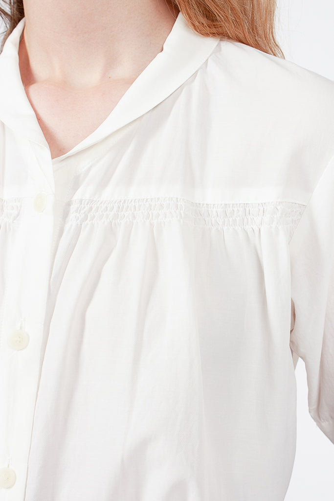 Dobby Shawl Collar Shirt