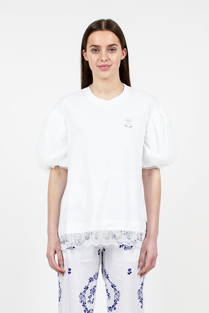 Drop Sleeve Daisy Tee