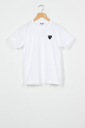 PLAY White Logo T-Shirt