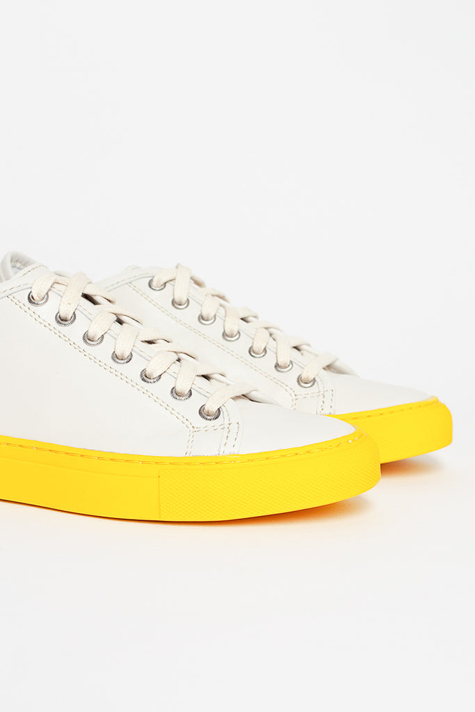 Frida LNAP Sneaker Yellow/White