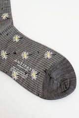 Edelweiss Ankle Sock Grey