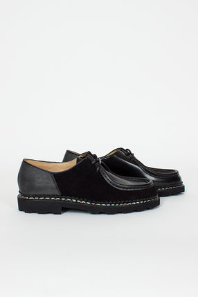 YMC x Paraboot Black Michael Patchwork Shoe